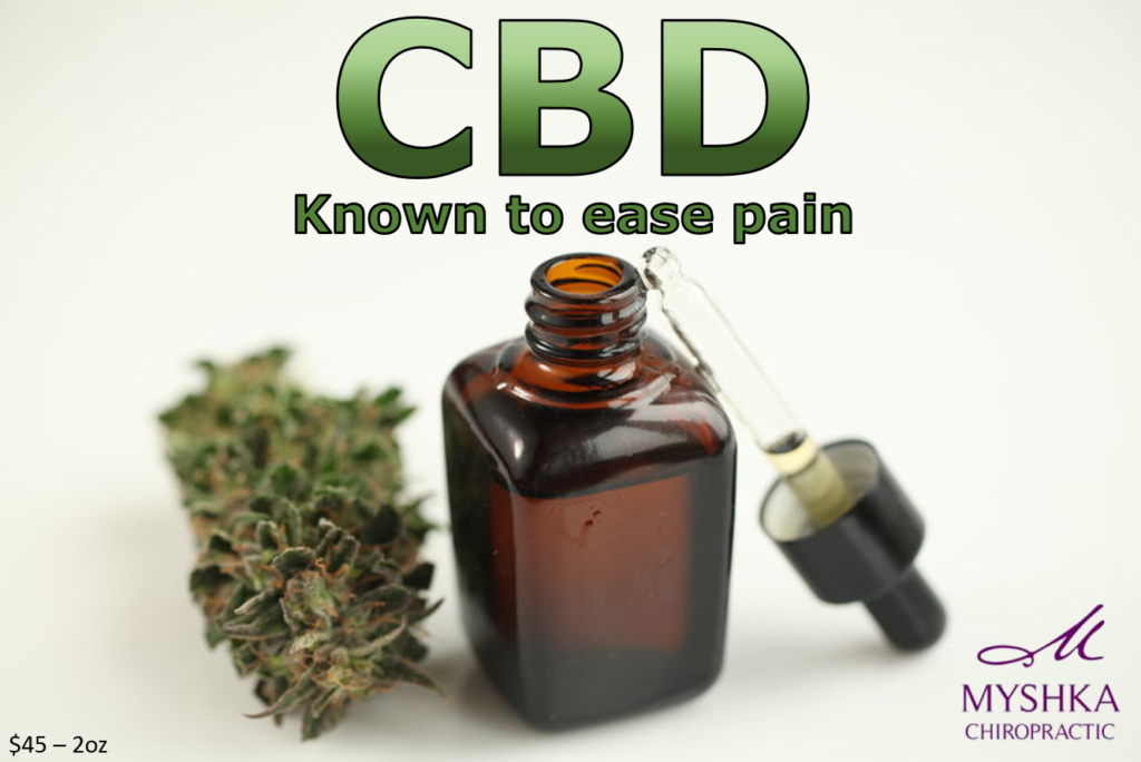 Benefits of CBD oil - Myshka Chiropractic